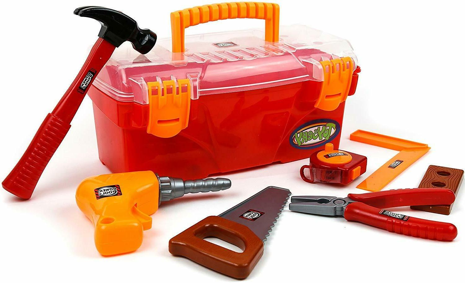 complete toy tools set