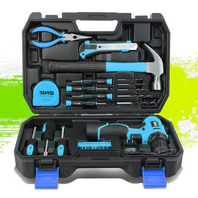 cordless drill bits hammer screwdriver hand tool