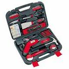 Apollo Cordless Screwdriver 135-piece Red Household Mixed To