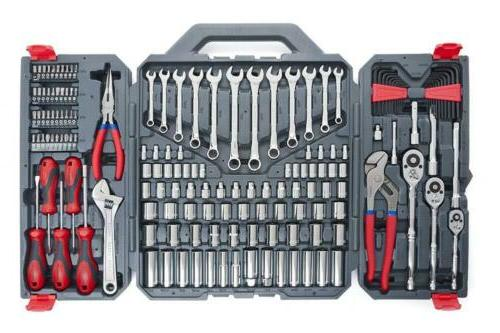 complete mechanics tool set with box kit wrench 170-Piece