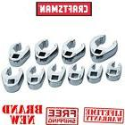 *New* CRAFTSMAN Crowfoot Flare Nut METRIC WRENCH SET for 3/8