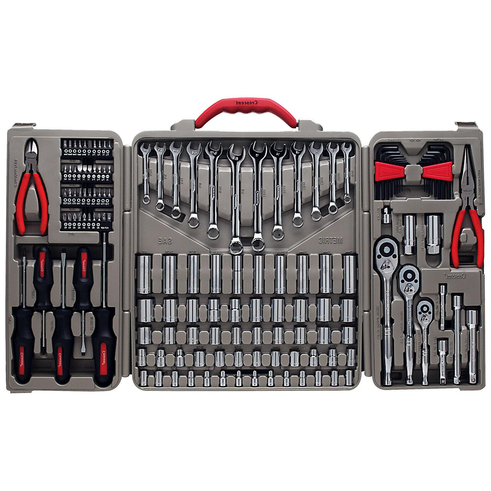 TOOL SET Crescent CTK148MPN 148 Piece Professional Mechanics