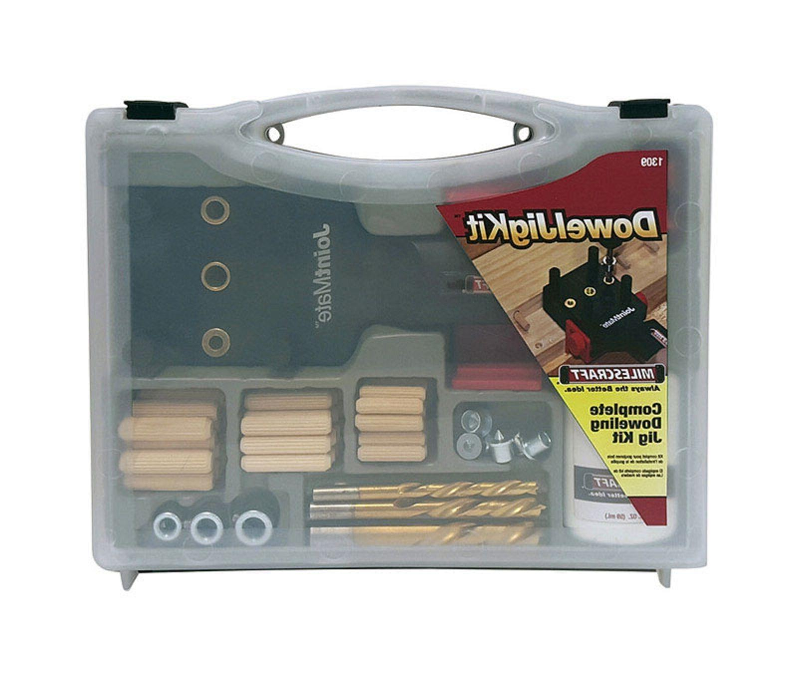 Dowel Jig Kit Self Centering Build and Repair Furniture Quic
