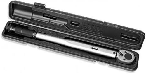 EPAuto 1/2-inch Drive Click Torque Wrench 10~150 13.6 ~ N/m Tool