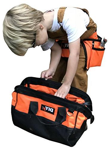 My First Tool by Tool for Kids Steel Forged Tools Children Kids Tools Tool Bag for Kids Tools for Boys Tool Girls Hands