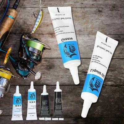 Fishing Reel Maintenance Tools Kit Lubricant Oil Grease Set