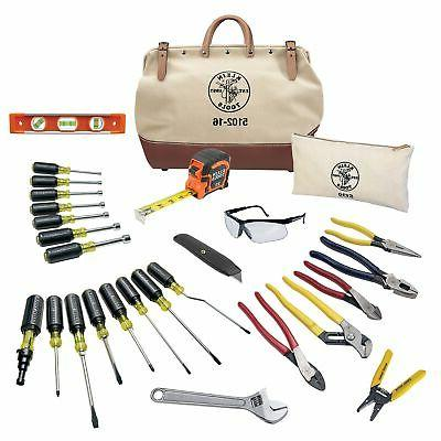 Klein General Hand Tool Kit, Number of Pieces: 28, Applicati