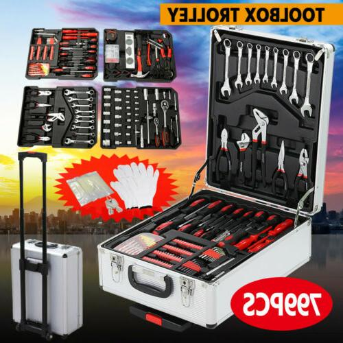 1099 Tool with Tools Mechanic Tool Set Kit Wheels