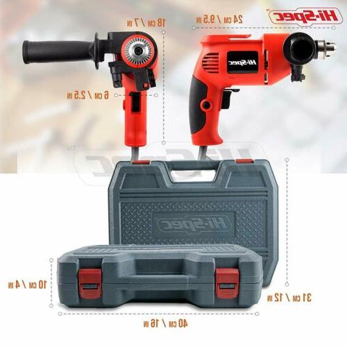 Hi-Spec, AC Corded Power & Hand Tool Kit with
