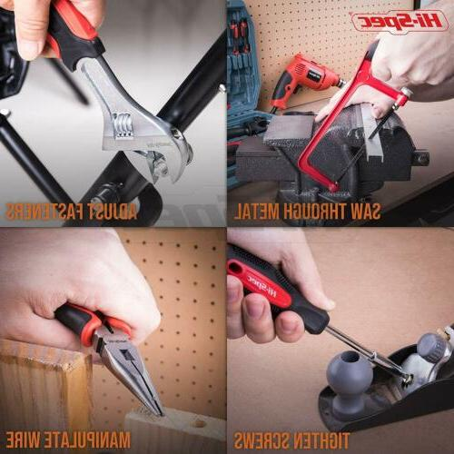 Hi-Spec, Power & Hand Tool Set Combo Kit Hacksaw