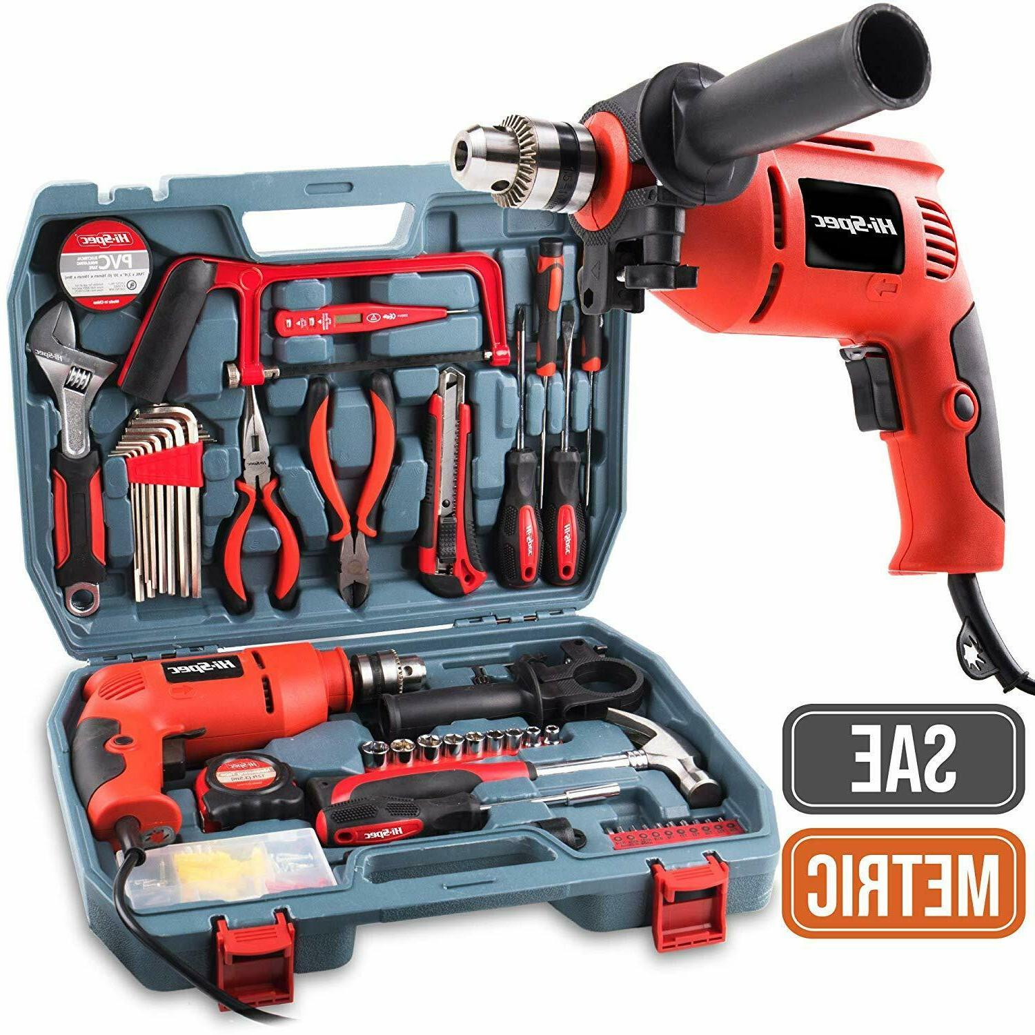 power drill diy hand tool set combo