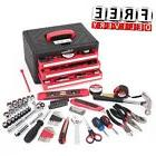 Household Tool Set 86 Piece Kit  Home Repair Mechanic Toolbo