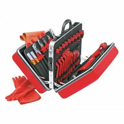 KNIPEX 98 99 14 Insulated Tool Set,48 pc.