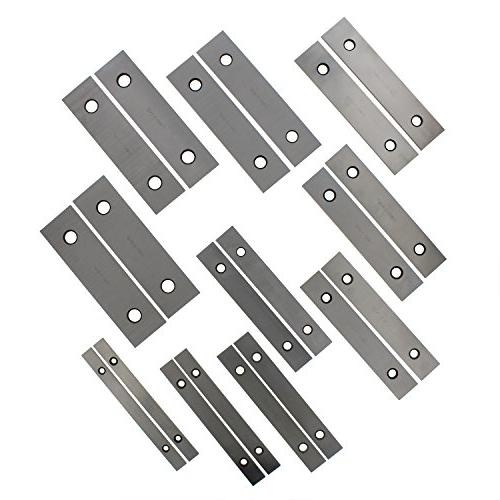 "ABN Machinist Thin Parallel Bars 20-Piece Set 1/8"" – – Block Pairs"