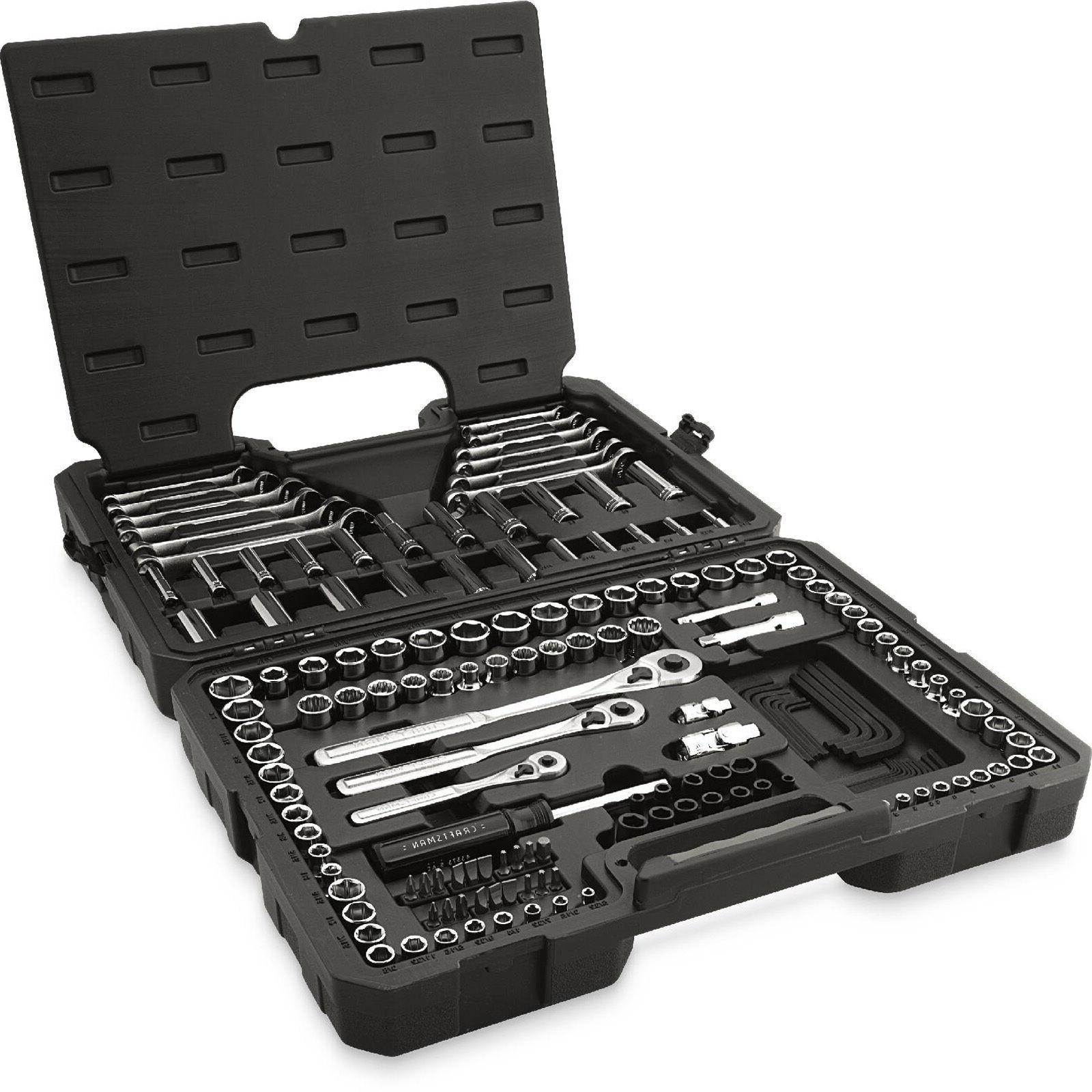 Craftsman 165 Piece pc Tool Kit Metric Socket