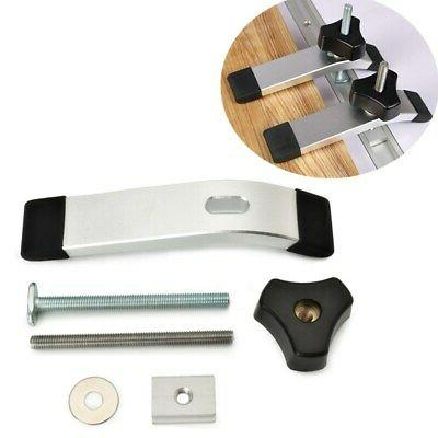 Metal Acting Hold Down T-Track T-Slot Woodworker #USA