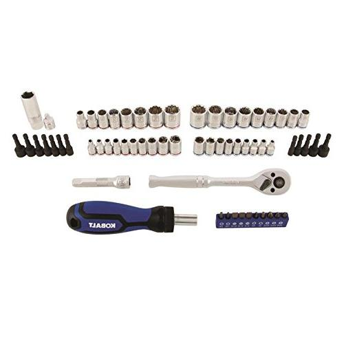 Kobalt Standard Metric Polished Chrome Tool Set