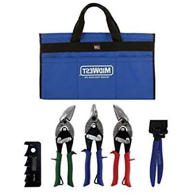 midwest nippers and snips hvac tool kit