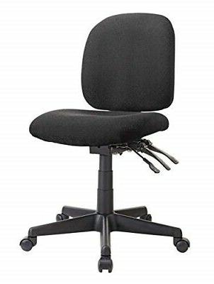 WorkPro Mobility Multifunction Fabric Task Chair, Black/Blac