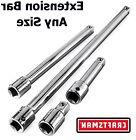 """NEW Craftsman 1/4"""" 3/8"""" 1/2"""" in. Drive Socket Extension Bar"""