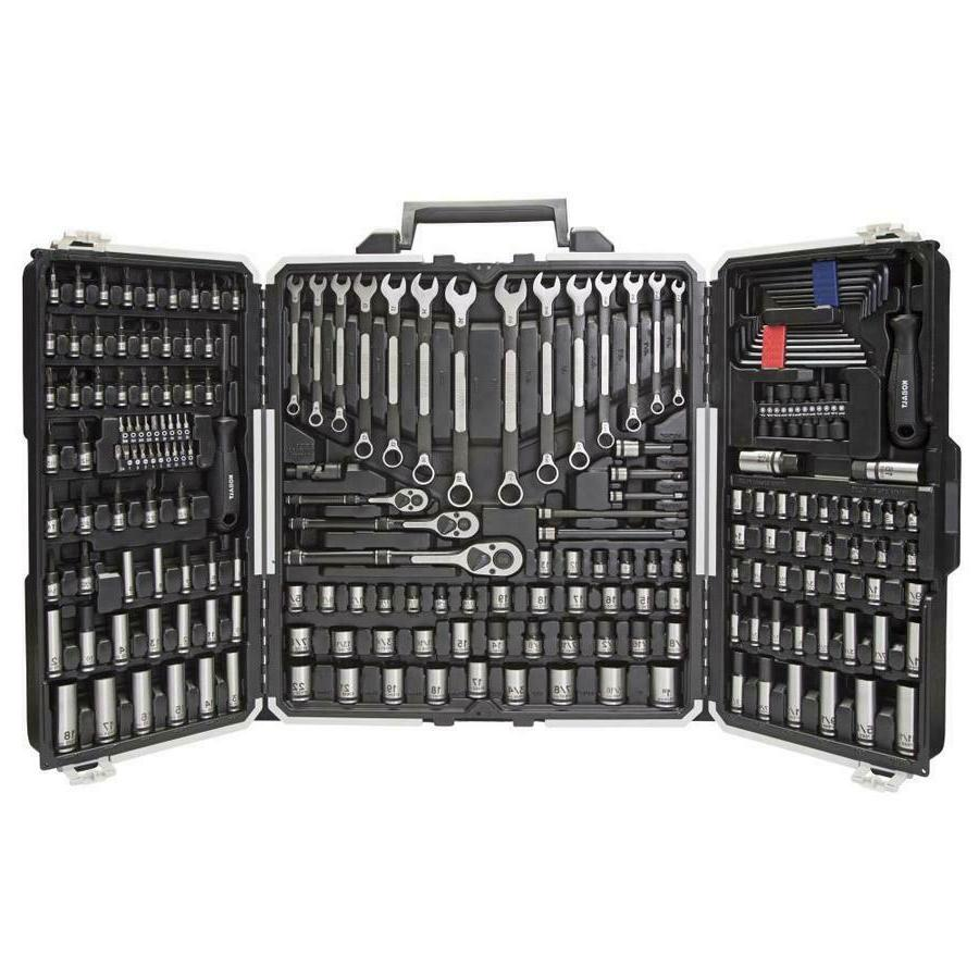 Kobalt 200 Piece UNIVERSAL Mechanic's Tool Set with Hard cas