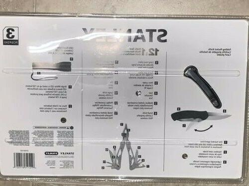 New 3-Piece Stanley 12-In-1 Multi-Tool Brand New