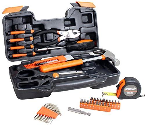 CARTMAN 39-Piece Tool Hand Kit Plastic