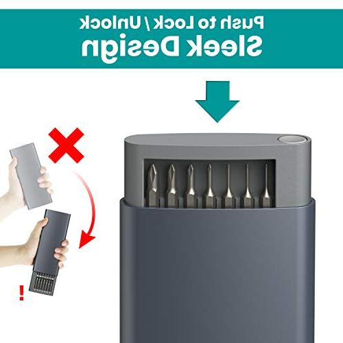 Precision Screwdriver in 1 Bit Set Pieces Klearlook Tool Set Repair for Electronics Cellphone PC iPhone iPad Tablet