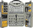 NEW 123 pc All Purpose Mechanic Tool Set.Professional Kit  C