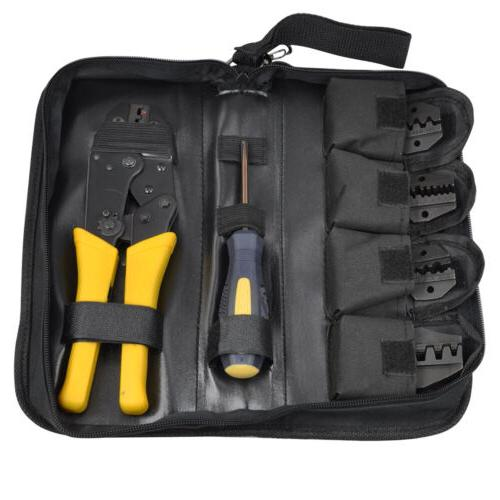 Tool Set Crimper Non-insulated Wire-electrode