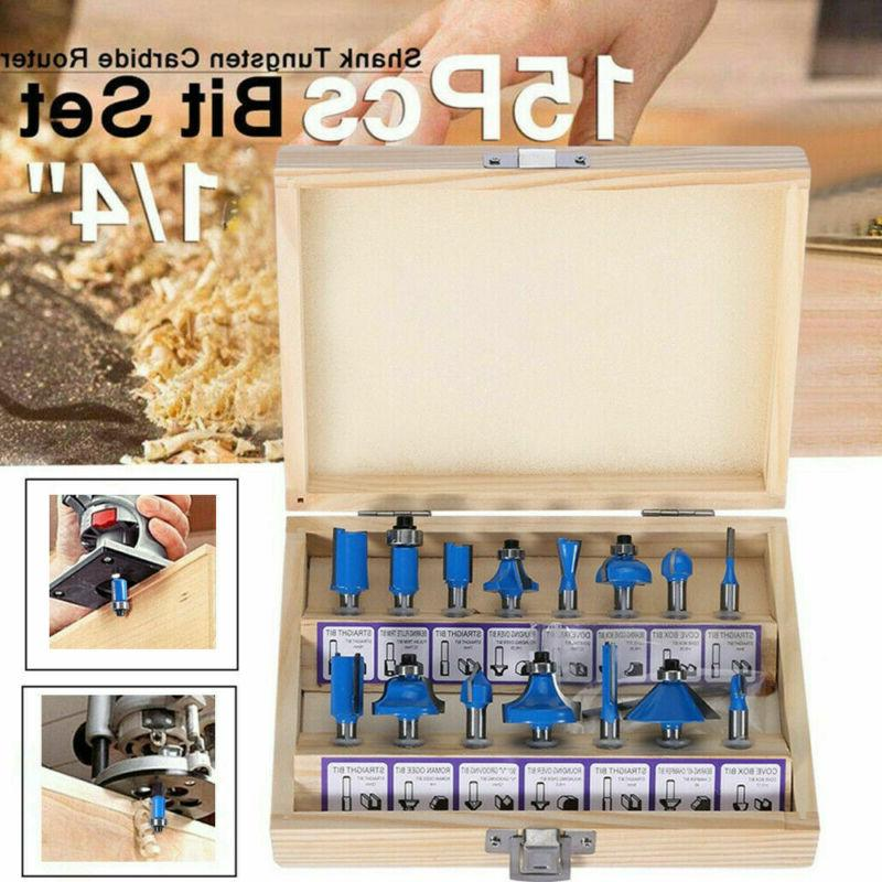 Router Bits Tungsten Carbide Professional Quality Wood Worki