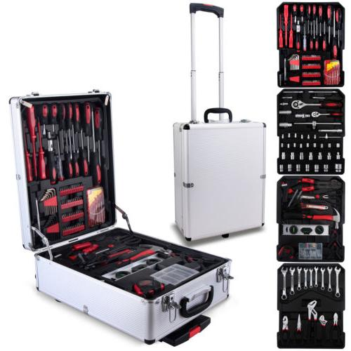 799 Tool Set Trolley Metric Kit Case Castors