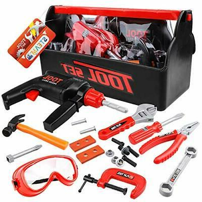steam life kids tool set for toddlers