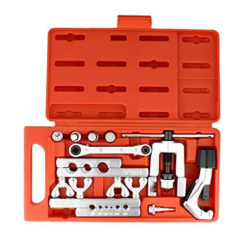 ABN Swage Tool Kit 10-Piece Set Flaring Tool and Heavy Duty