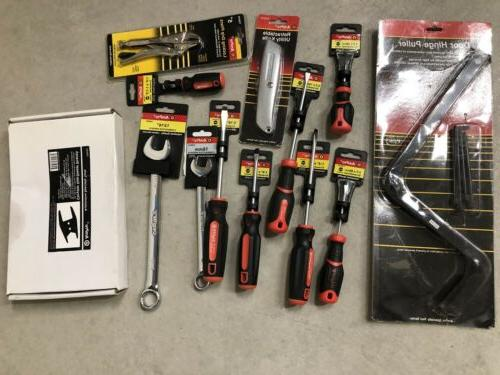 Ampro Tool Piece Lot Impact Sockets, Specialty, Screwdrivers