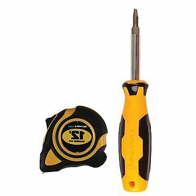 Olympia Tools 43-236 Tape And Screwdriver Set, 2-Piece