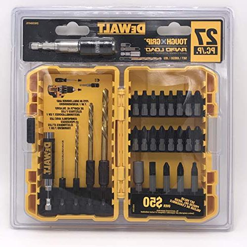 DEWALT Grip Screwdriver Bit Set DW2504TG