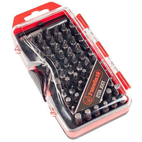 ultimate compact screwdriver bit set