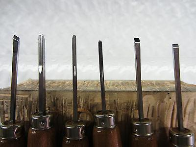 Ramelson Wood Carving Chisels Tool Set Metalworking Workshop