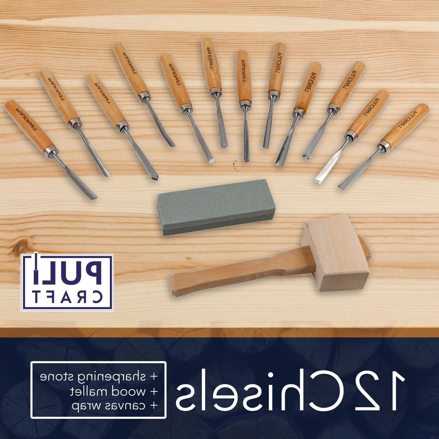 Wood Carving Set 14 with