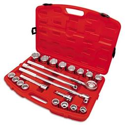 Crescent 21-Piece Mechanic's Tool Set, SAE, 3/4 Drive, 7/8 t