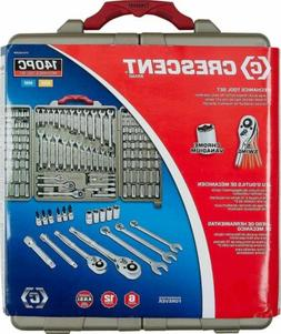 CRESCENT 140 Piece Mechanic's Tool Set