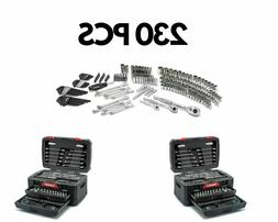 Husky Mechanics Tool Set Chest Hand Tool Kit 230-Piece SAE M
