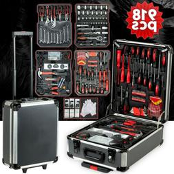710 pcs Standard Metric Mechanics Kit Tool Set Case Box Orga