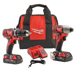 Milwaukee 18V Compact 2 piece Combo Kit
