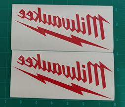MILWAUKEE TOOLS LOGO STICKER DECAL HAND TOOLS POWER TOOLS DR