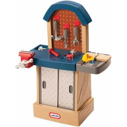 MS) Little Tikes Tough Workshop Kids Toddler Tool Work Bench