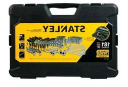 NEW  Stanley 181 Piece Mechanics Chrome Tool Set  in Hard Ca