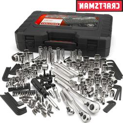 New Craftsman 230 pc Silver Finish Standard and Metric Mecha