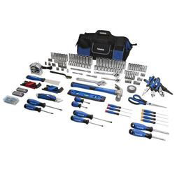 New Kobalt 230-Piece Household Tool Set with Soft Case